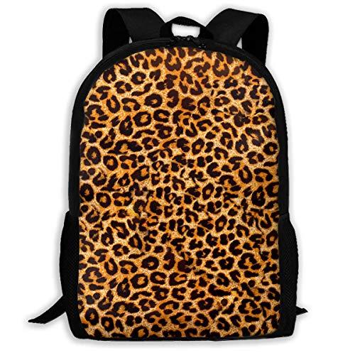 sghshsgh Mochilas de Camping la Universidad Leopard Print Animal Skin