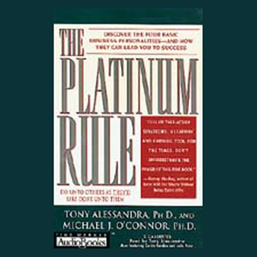 The Platinum Rule audiobook cover art