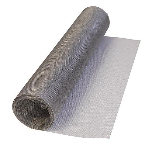 Surtek 138104 Tela para Mosquitero de Aluminio en Rollo, 0.90 x 2.1 m
