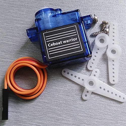 Drone Accessories - Plataforma de cámara inclinable para aviones con montaje antivibración, nailon dedicado PTZ, compatible con 9G SG90 MG90S Servo Bracket Quadcopters (color: servos) fácil de reparar