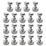 Neodym Magnet N52 Extra Stark 18 Stück Magneten 12 x 16 mm für Magnettafel, Stecktafel,...