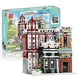 GCX- Vista sulla strada mestiere collezione di antiquariato costruire insieme la costruzione di adulto alta difficoltà di assemblaggio di blocchi costruttivi giocattolo modello contiene 3050 blocchi c