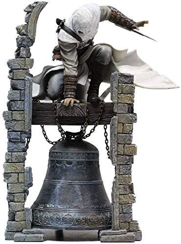 SSCEEL Assassin's Creed Figur - Altair: Der legendäre Assassin Altair Glockenturm Original Figma Action Figure (Größe: 11inch)