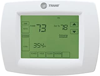 Trane Single-Stage Thermostat 7-Day Programmable Touchscreen Thermostat , TCONT800AS11AAA / TH8110U1045 / THT02476