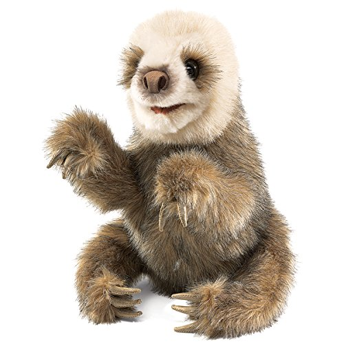 Folkmanis Baby Sloth Hand Puppet