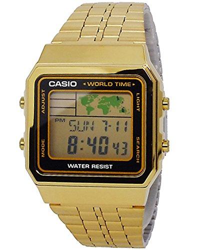 カシオ CASIO デジタル メンズ ワールドタイム 腕時計 A-500WGA-1 [並行輸入品]