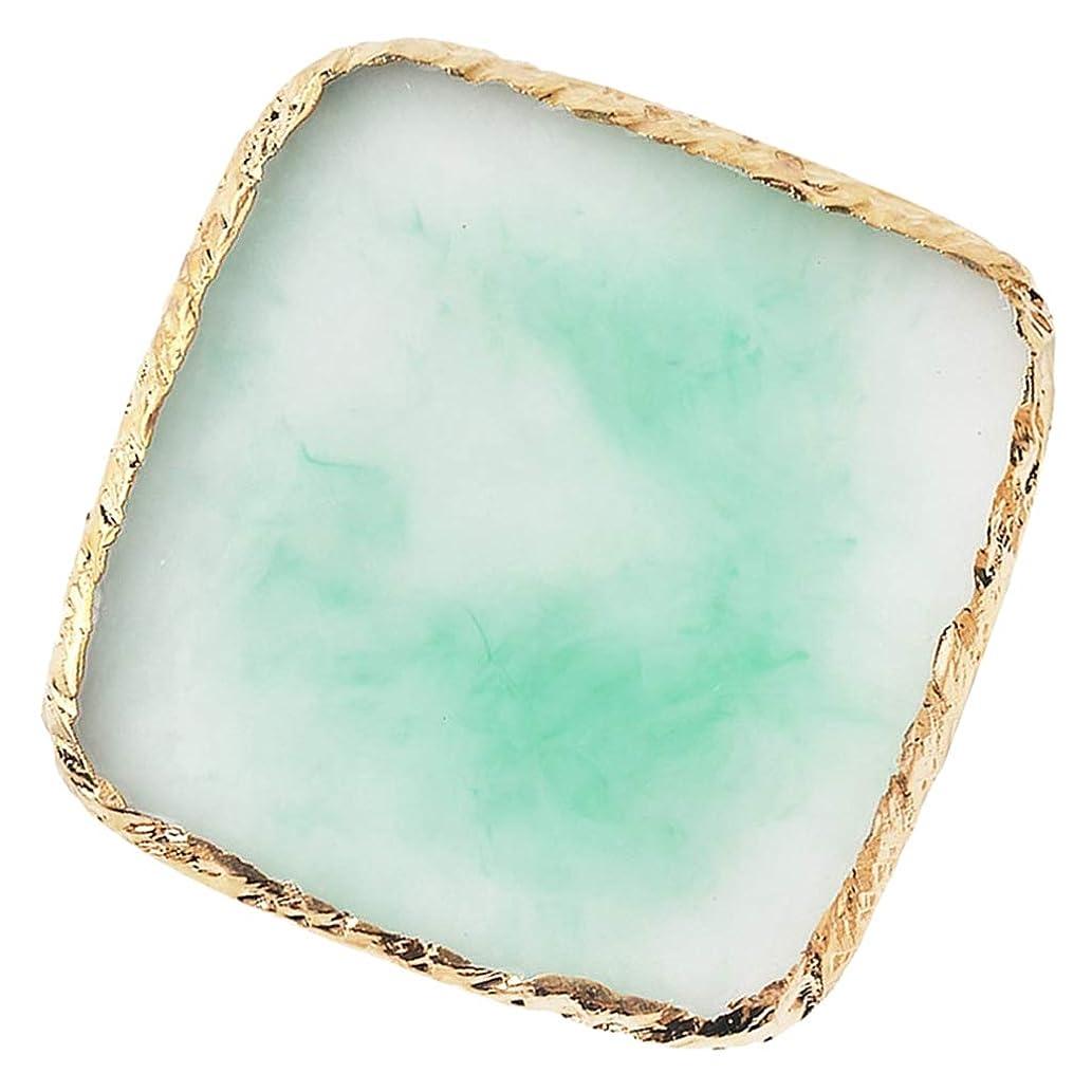 美徳免除する灰Sharplace ネイルアート カラーブレンド ミキシングパレット 顔料 色合い 6色選べ - 緑