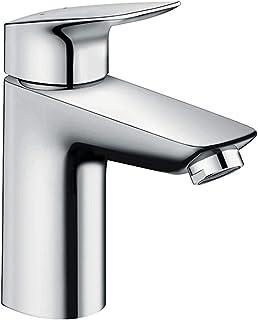 Hansgrohe 71107000 Logis grifo de lavabo 100 con vaciador Push-Open, cromo