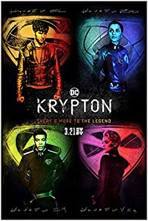 Krypton (TV Series 2018 - ) 8 inch X 10 inch photograph 4 Photo Collage Title Poster kn
