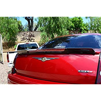 300C SRT-8 Lip Mount Factory Style Spoiler-Gray Paint Code Accent Spoilers Spoiler for a Chrysler 300 PA4