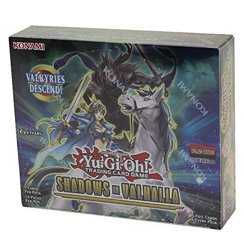 Konami Yu-Gi-Oh! TCG: Shadows Over Valhalla Booster Display (24)