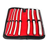 AAPROTOOLS 8 Piece Dilator Set with Pouch - HEGAR Sounds