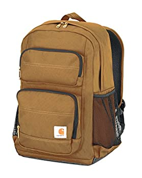 Carhartt Legacy Standard Work Backpack with Padded Laptop Sleeve and Tablet Storage Carhartt Brown