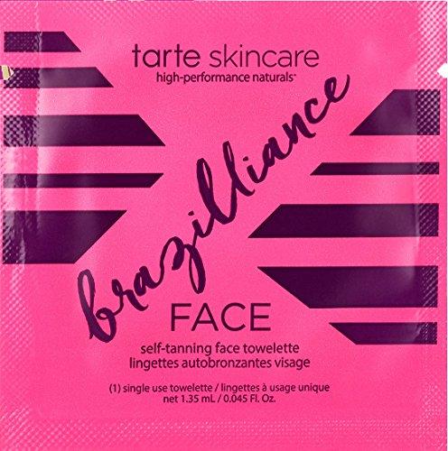 Tarte Brazilliance Self Tanning Face Wipe - 1 Single Use Towelette