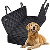 Dog Seat Cover for Back Seat, Waterproof Scratchproof Heavy Duty Pet Car Hammock for Backseat Protection Against Dirt...