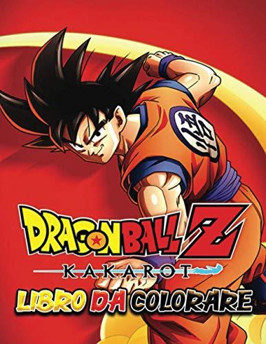 Libro da colorare di Dragon Ball Z: Sei pronto a iniziare un'avventura giocosa e magica con Goku?