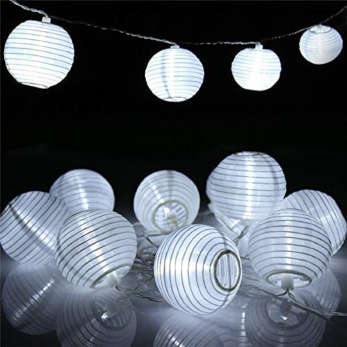 2x 7m LED Solar Lichterkette Aussenlichterkette Leuchte Gartenlichterkette Lampe