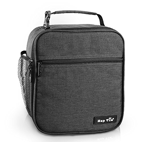 Hap Tim Insulated Lunch Bag for Men Women,Reusable Lunch Box for Boys,Spacious Lunchbox Adult (18654-DG)
