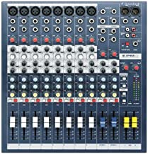 Soundcraft EPM8 High-Performance 8-channel Audio Mixer