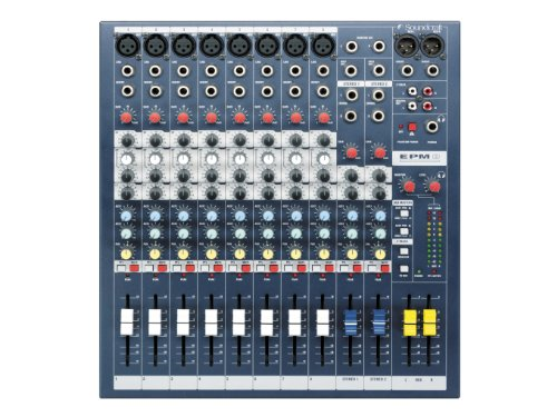 Soundcraft EPM8 High-Performance 8-channel Audio Mixer