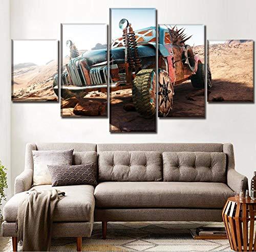 Dekor Wohnzimmer Oder Schlafzimmer Rahmen 5 Stücke Mad Max Fury Road Game Gemälde Auf Leinwand Druck Typ Poster Wandkunst Bild