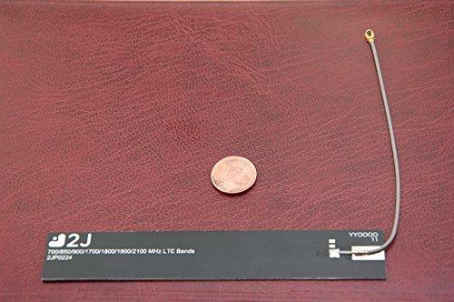 Alda PQ Platina-antenne voor 2G (GSM), 3G (UMTS), 4G (LTE) met U.FL-stekker 2,7 dBi winst