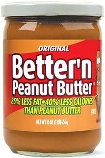 Better Peanut Spread, Original, 16 Ounce (Pack of 3)