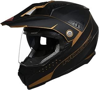 Adulto Motocross Casco Trajes Hombres Mujer Motocicleta Off-Road Enduro Cuesta Abajo Casco ATV MTB Patio Bici de La Suciedad Cara Completa Estrellarse Casco D.O.T Certific con Gafas M/áscara Guantes