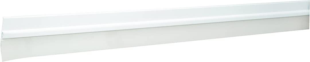 Hermex GUPO-100B, Guardapolvos para puertas, color blanco, 100cm de largo