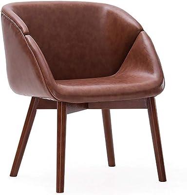 Amazon.com: LumiSource Chair in Walnut and Green: Kitchen ...