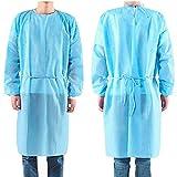 50枚入り 使い捨て防の護の服 フリーサイズ 男女兼用 ブルー