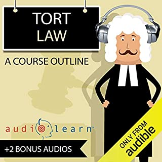 Tort Law AudioLearn - A Course Outline cover art