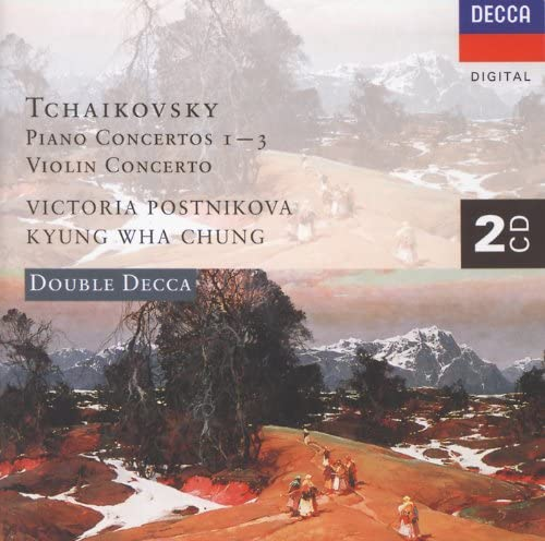 Victoria Postnikova, Wiener Symphoniker, Gennadi Rozhdestvensky, Kyung Wha Chung, Orchestre Symphonique de Montréal, Charles Dutoit & Pyotr Ilyich Tchaikovsky