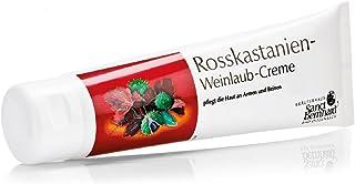 Rosskastanien-Weinlaub-Creme mit Getreidekeim, Jojobaöl und Avocadoöl 150 ml