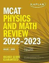 MCAT Physics and Math Review 2022-2023: Online + Book (Kaplan Test Prep)