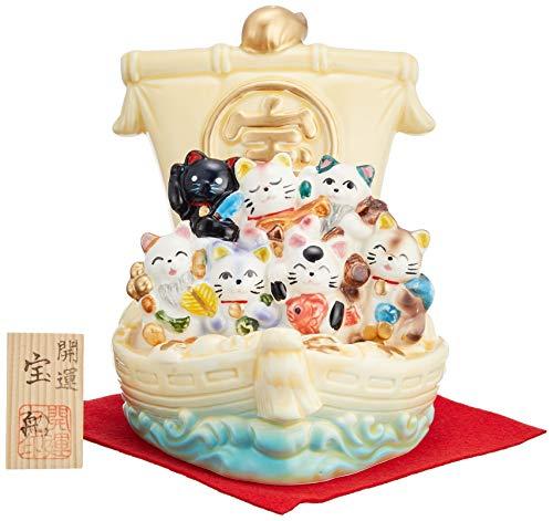 『七福猫宝船』