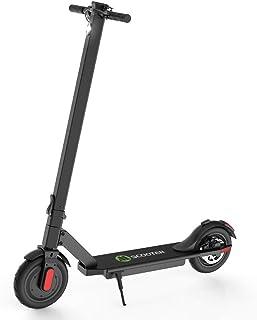 M MEGACHEELS Patinete electrico Adulto - Scooter electrico 25km/h, Juventud Unisex,Negro