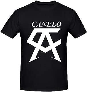 DIYCloTH Men's Santos Saul alvarez Barragan Short Round T-shirt