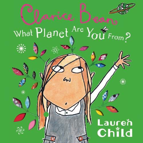 What Planet Are You from Clarice Bean?  By  cover art