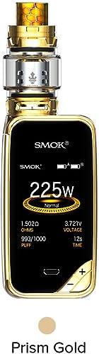 Smok X-priv 225W TC Mod Plein Écran Kit avec TFV12 Prince Tank 8ML Cigarette Electronique Kit Complet - Sans Tabac Ni...