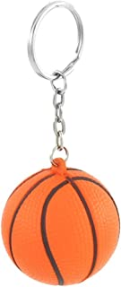Royare Creative Basketball Keyring Stress Ball Hanging Ornament Keychain Pendant Gift