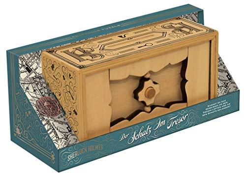 moses. 92108 Sherlock Holmes – Die Schatzkammer | Professor Puzzle Knobelspiel aus Holz | Geduldspiel, bunt