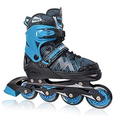 Nattork Adjustable Inline Skates for Kids with ...