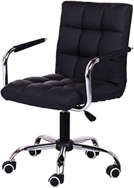 Landscap Office Work Chair Fashion Casual Lift Chair Beauty Salon Chair Computer Desk Task Chair with Armrests