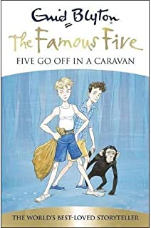Five Go Off in a Caravan by Enid Blyton - Paperback