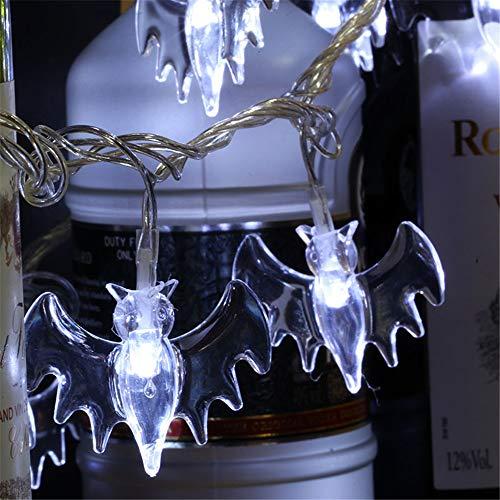 Halloween Fledermaus Lichterketten, Outdoor Lichterketten, Laternen Beleuchtung Für Garten,...