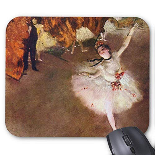 Muismat, Gaming Mouse Pad Grote Grootte 300x250x3mm Dikke Prima Ballerina, Rosita Mauri Extended Mouse Pad Antislip Rubber