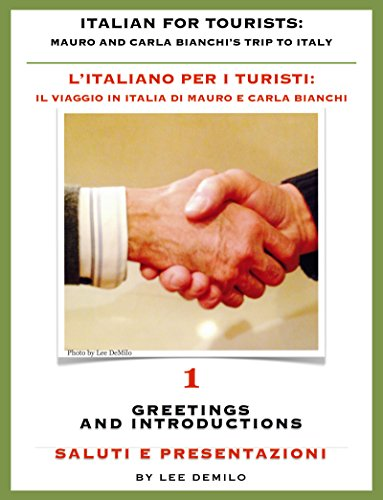 Italian for Tourists First Lesson: Introductions and Greetings - L'...