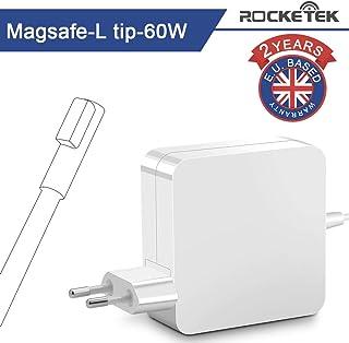Compatible con MacBook Pro Cargador 60W, Rocketek Magsafe L-Tip Power Connector Adaptador Cargador para Mac Book Pro de 13 pulgadas Antes de mediados de 2012 Modelo A1181 A1185 A1278 A1280 A1330 A1342