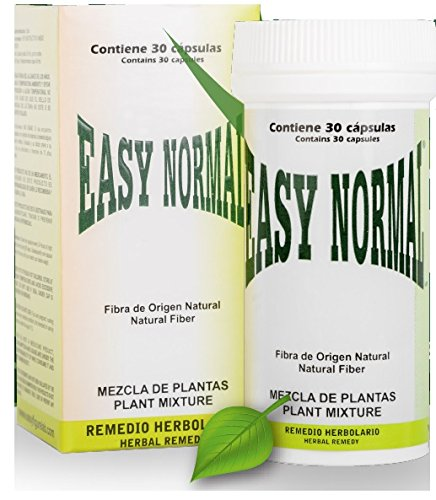 Easy Normal The Original Diet Capsule from Mexico, 30 Capsules, Natural Weight Loss, Natural Vegetal Origin, with Omega 3 and 6